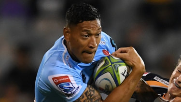 Folau tips below-par Tahs to hit straps for Crusaders