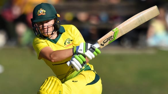 Healy's record innings sees Aussies destroy Ireland