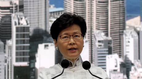 Hong Kong suspends extradition bill
