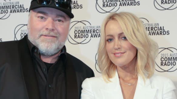 No-show Kyle and Jackie O win top radio prize, again