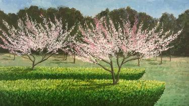 'Blossom Boats Springwood' by Leo Robba