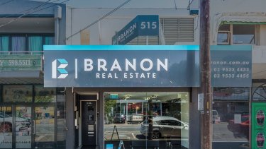 An investor has paid $745,000 on a 5.4 per cent yield for a strata shop at 515 Hampton Street.
