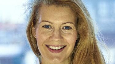 Business development manager for Swedish fintech software platform Tink, Gwen Sandberg.