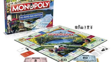 The Ku-ring-gai Monopoly edition.