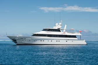 Even the luxury yacht escape hatched by millionaires got a bit tired the second time around.