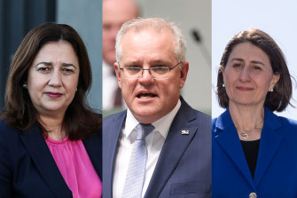 Queensland Premier Annastacia Palaszczuk has asked Prime Minister Scott Morrison for help and NSW Premier Gladys Berejiklian is not empathetic.