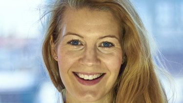 Business development manager for Swedish fintech software platform Tink, Gwen Sandberg.