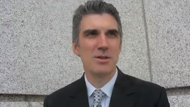 Senior Liberty Party official, Mormon and HIV doctor Ivan Stratov.