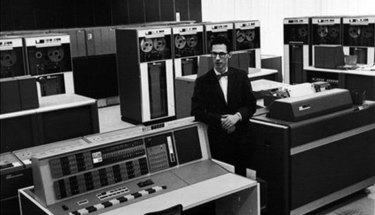 Fernando Corbató, a scientist who put his stamp on daily life by introducing the computer password, 1965.