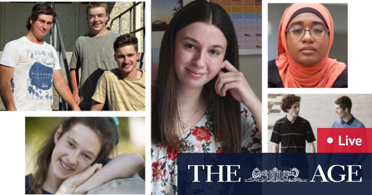 VCE ATAR 2020 results LIVE: Victorian Year 12 students receive end of year results – The Age