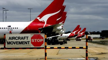 """Qantas has reported """"extraordinary demand"""" from people wanting to fly to see family and friends."""
