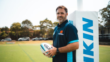 New Waratahs coach Phil Bailey at Daceyville on Wednesday.