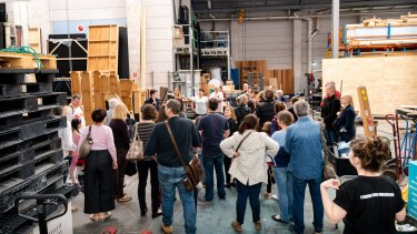 Curious visitors are welcome to tour the Bille Brown Theatre during Brisbane Open House on October 12.