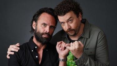Walton Goggins (left) with Danny McBride in HBO's Vice-Principals.
