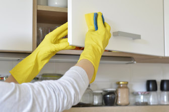 Cleaning is very important, because organic matter may inhibit or reduce the disinfectant's ability to kill germs.