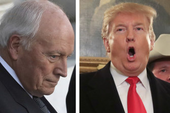Dick Cheney is among the senior military figures who issued the effective warning to Donald Trump.