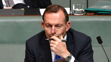 Tony Abbott's contempt for Turnbull has only grown.