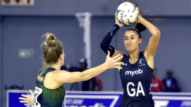 Maria Folau is on the lookout for a Super Netball side.