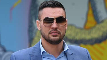 Salim Mehajer was convicted on Thursday of intimidating his ex wife and placed on a good behaviour bond.