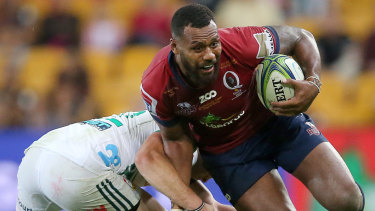 Wanted man: Samu Kerevi has evolved his game beyond the line-breaker stereotype.