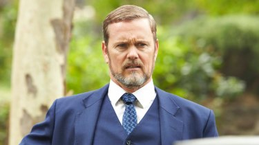Craig McLachlan in character on the ABC's <i>The Doctor Blake Mysteries</I>.