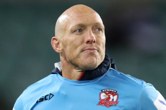Craig Fitzgibbon is ready to take over at Cronulla.