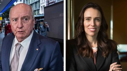 Jones in a snit because Ardern called him a 'git'