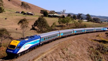 The centre pins on all of the XPT locomotives in the state's fleet will now be replaced.