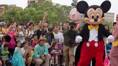 Disney is estimated to be losing as much as $US30 million a day during the pandemic.