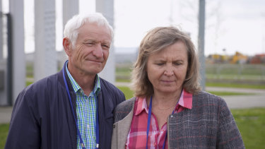 Australians Serge and Vera Oreshkin have travelled to Amsterdam for the trial.