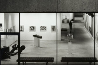 Max Dupain's view of the interior of the Art Gallery of NSW which is to be restored.
