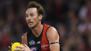 Supporting role: Mitch Brown was key to creating momentum.