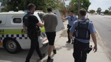 Police arrested and charged five people over the series of thefts across Perth.