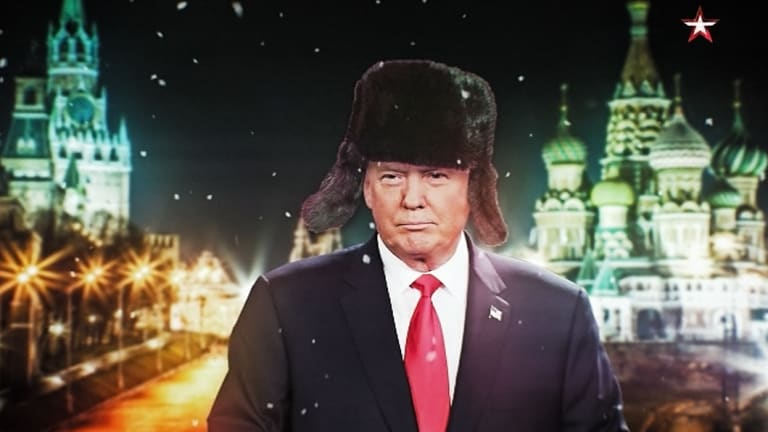 <i>Our New President</i> looks at the rise of Donald Trump through the lens of Russian propaganda.