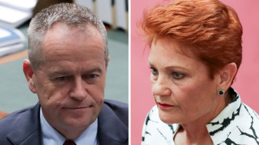 Shorten's letter and its wording could encourage Hanson to preference the Coalition.