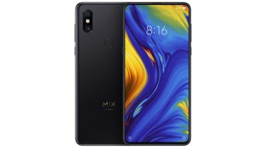 With an all-screen front and a ceramic back, the Mi Mix 3 is a great-looking phone.