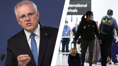 Voters back Morrison's cautious approach to closed border