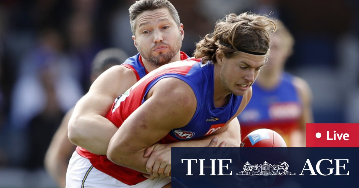 AFL 2021 LIVE updates: Bulldogs grab the early edge against Brisbane in chilly Ballarat – The Age