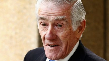 Tennis legend and former BBY director Ken Rosewall.