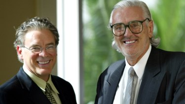 Robert Kirby and Graham Burke have led Village Roadshow for decades.