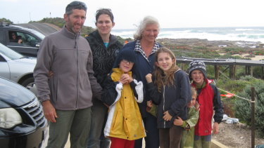 Aaron's fondest memories with his kids involve fishing and going to the beach off the WA South West coast.