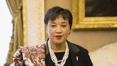 Commonwealth Secretary-General Patricia Scotland.