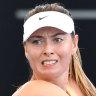 'I still have a lot of fire in me': Sharapova on comeback trail in Brisbane