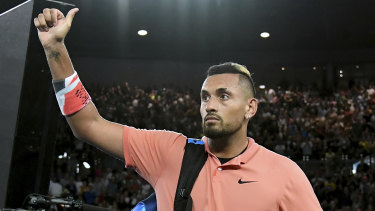 Nick Kyrgios enhanced his standing with his support for bushfire relief and performances at the Australian Open.