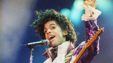 Prince, pop superstar.