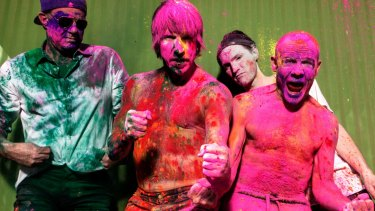 Red Hot Chili Peppers, touring Australia in early 2019.