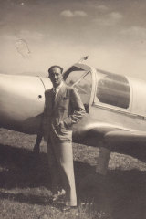 Angela Hamilton's father in 1941.