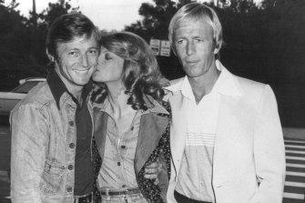 Cornell, Delaney and Hogan in November 1976.