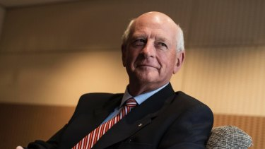 Former Reserve Bank of Australia board member and former Woolworths managing director Roger Corbett.