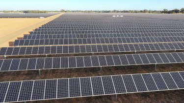Neoen's Numurkah solar farm will partly power a steel works and Melbourne's tram network.